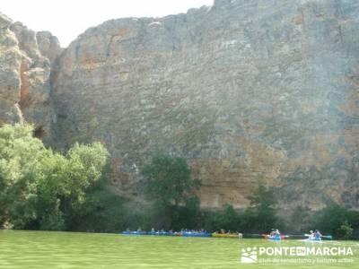 RUTA DE PIRAGÜISMO EN CANOA Y PIRAGÜA - HOCES DEL RÍO DURATÓN; senderos club de montaña